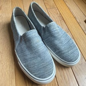 KEDS gray slip on size 10 sneakers